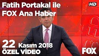 Baba - Oğul aynı kaderi paylaştı... 22 Kasım 2018 Fatih Portakal ile FOX Ana Haber