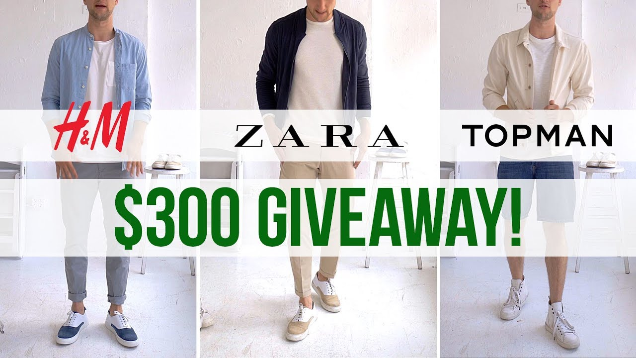 [VIDEO] - $100 Challenge at H&M, Zara & Topman | 3 Men's Outfits on a Budget | Sale Shopping 2