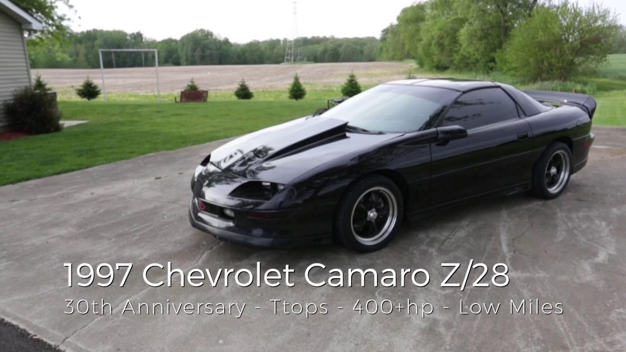 Camaro 1997 chevrolet camaro coupe : 1997 Chevy Camaro Z/28 SS For Sale - 30th Anniversary Edition ...
