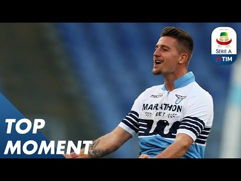 Fierce Milinkovic-Savic Strike Earns a Point   Lazio 1-1 Torino   Top Moment   Serie A