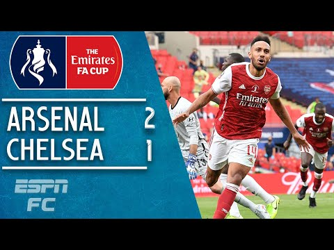 PierreEmerick Aubameyang double leads Arsenal past Christian Pulisic & Chelsea | FA Cup Highlights