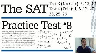 Frequently Asked SAT Math Questions (Strategies, Approaches, Tips, & Tricks)