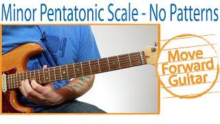 Guitar - Minor Pentatonic Scale - Break free from positions (patterns)