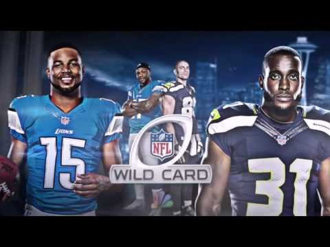 NFL NBC - Wild Card Game 2017 Game Intro - Detriot Lions vs Seattle Seahawks