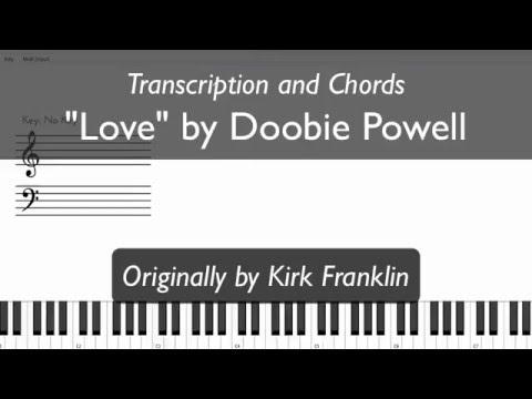 Play Love by Doobie Powell on Piano