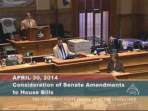 Colorado House 2014 Legislative Day 113