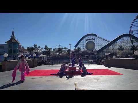 2017-01-30 Chinese Acrobats at Lunar New Year celebration at California Adventures