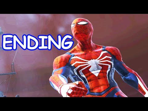PS4 Spider-man - Ending  - Main Story - Web of Shadows (PC) MOD