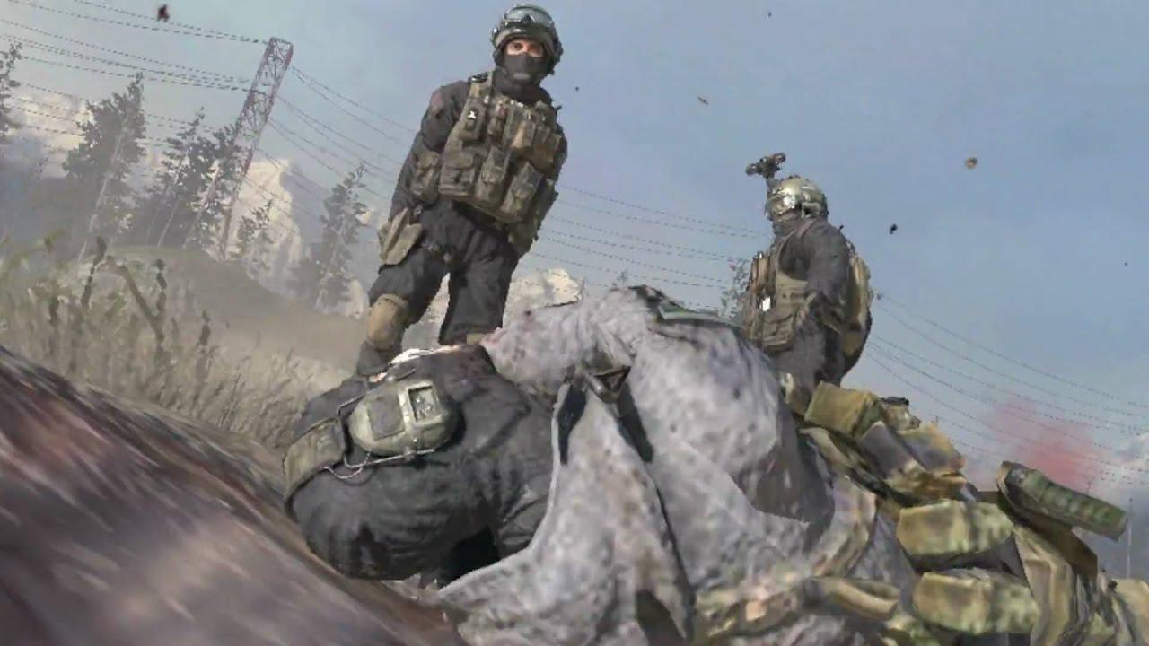 Call Duty Modern Warfare 2 Ghost Death