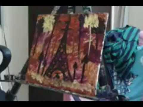 GALLERY PAINTING SAI MIX CONTEMPORARY ART MODERN DEMO (REAL TIME)