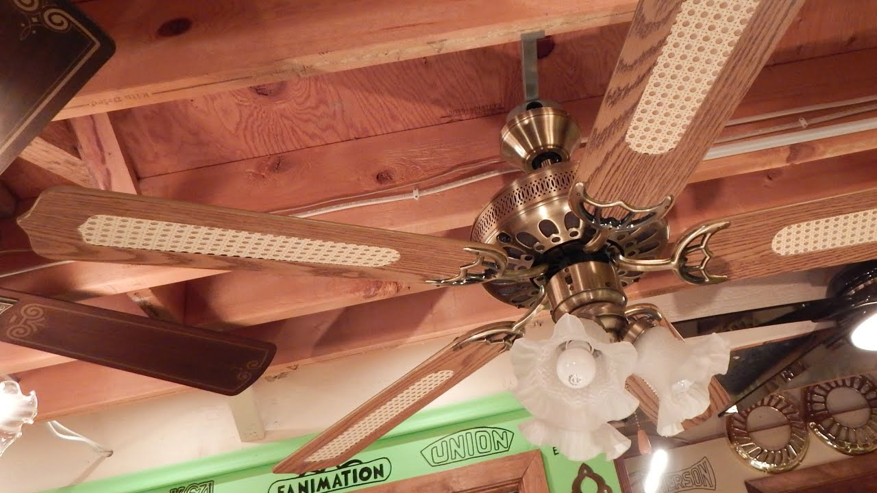 Cool Ceiling Fan air cool footprint vent ceiling fan - youtube