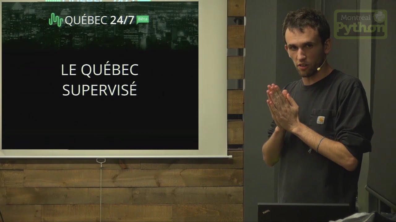 Image from Québec 24/7, le Québec supervisé
