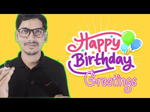 Birthday Greetings | Learn to wish Happy Birthday | Birthday Wish