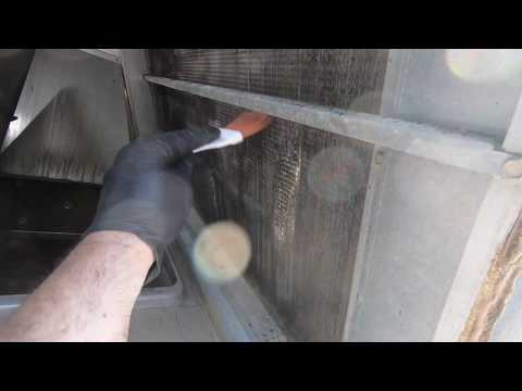 Cleaning A Dirty AC Evaporator Coil