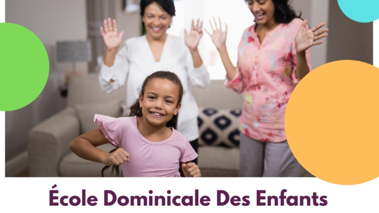 École Dominicale Des Enfants [31 janvier 2021]