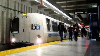 BART Balboa Park Station San Francisco California Bay Area Rapid Transit