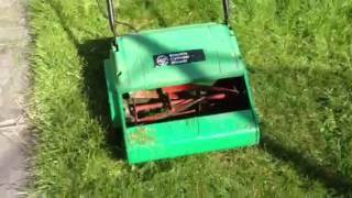 B&Q Atco Qualcast Push Cylinder Lawn Mower Grass Cutter 34