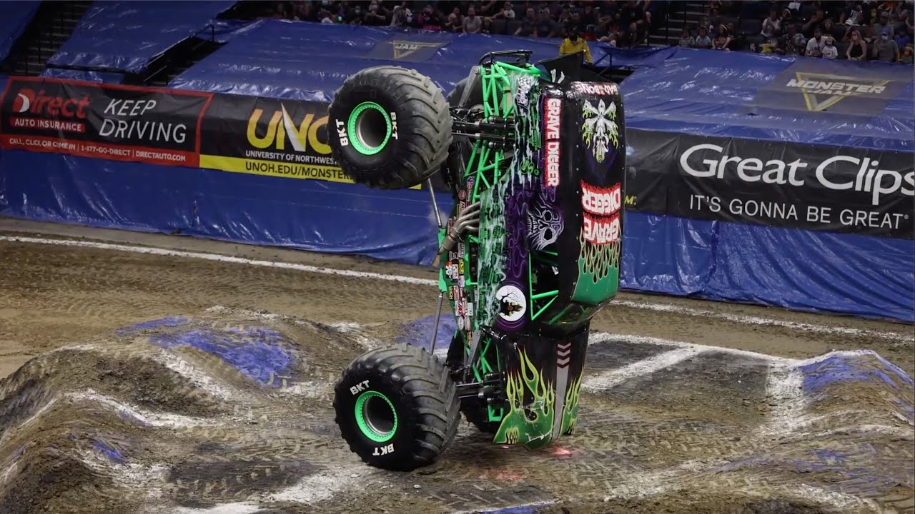2021 Monster Jam Highlights - Sacramento, CA - August 13 - 15