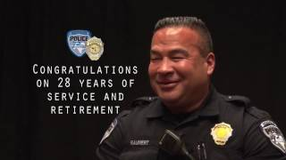 Richardson Police Officer Retires After 28 Years