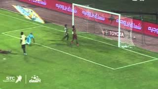 هدف الاتحاد الأول ضد القادسية في الجولة 4 من دوري عبداللطيف جميل