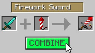 Minecraft, But You Can Combine Any Items...