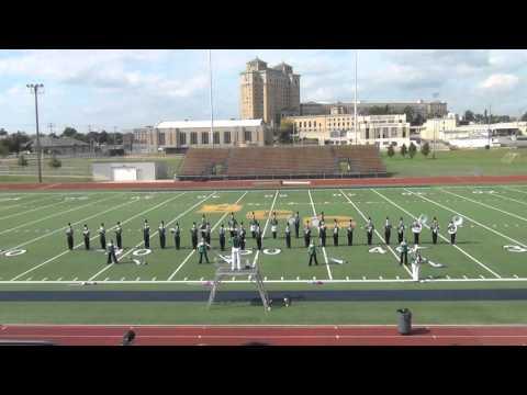 2015 Hackett Catholic Prep Marching Band Battle Creek Invitational