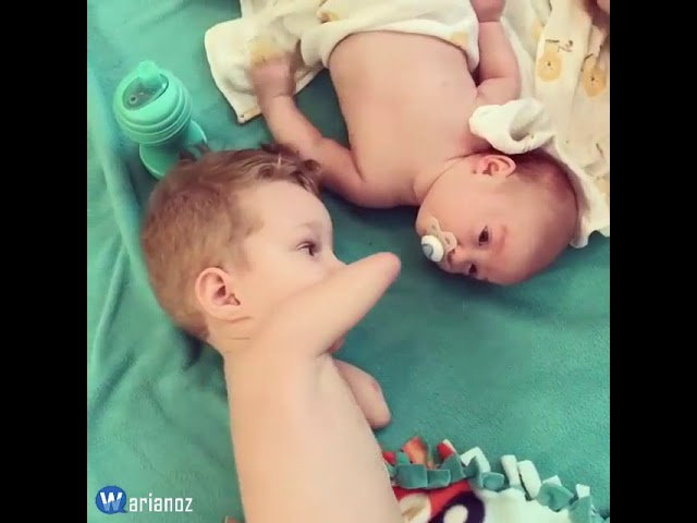 El enternecedor vídeo que muestra el amor entre hermanos