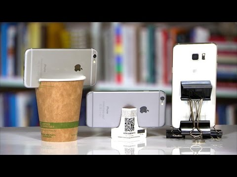 CNET How To  3 DIY phone tripods  YouTube