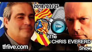 David Raventós in the CHRIS EVERARD Show - Truth Frequency  2018/03/25