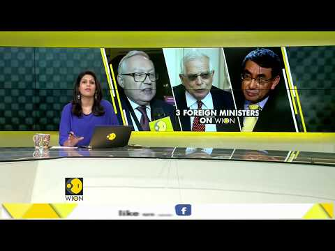 WION Gravitas Exclusive: Top 3 foreign ministers in conversation with WION