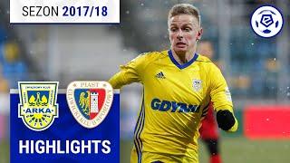 Arka Gdynia - Piast Gliwice 0:0 [skrót] sezon 2017/18 kolejka 25