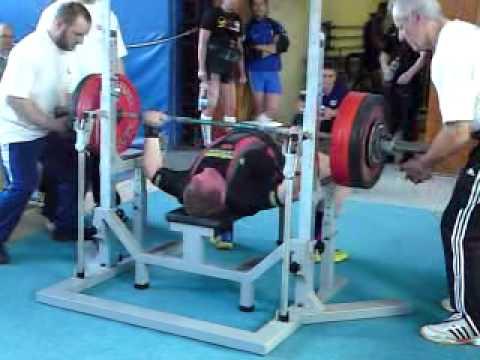 Sven Lange Benchpress 237,5kg