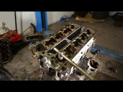 How to replace cylinder head Ford Zetec engine