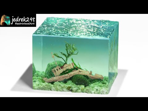 ShipWreck Underwater / Diorama / RESIN ART