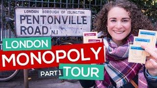 Monopoly original name was WHAT? London Monopoly Tour Part 1