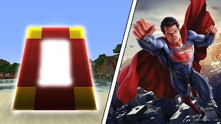 MİNECRAFT'TA SUPERMAN DÜNYASI PORTALI