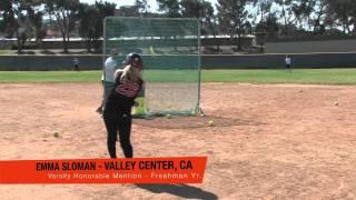 Emma Sloman - Valley Center, CA - Class of 2014
