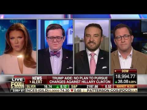 """Harlan Hill on Fox Business """"Intel Report w/ Trish Regan"""" (11/22/16) - Part 1"""
