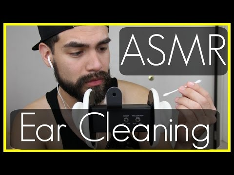 3D ASMR - Ear Cleaning | Ear to Ear Caressing (Soft Male Whisper and Binaural Ear Touching Sounds)
