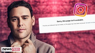 Scooter Braun DELETES Social Media After Divorce From Yael Cohen