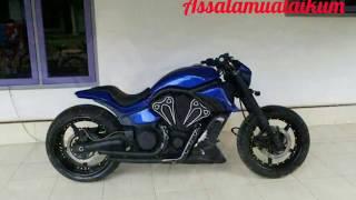 Video Bukan Moge !! Scorpio full modifikasi Custom Bobber Choper modern mirip Harley download MP3, 3GP, MP4, WEBM, AVI, FLV Agustus 2018