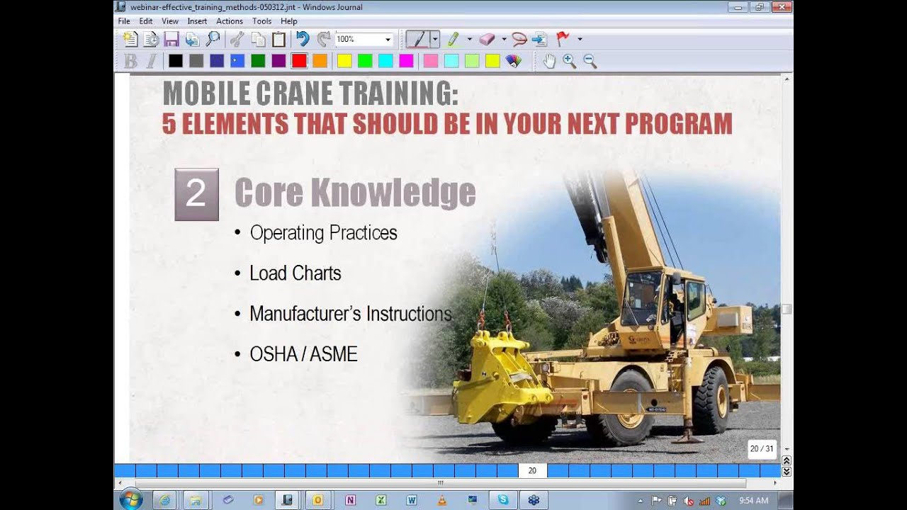 Effective Crane & Rigging Training Methods for Your Employees