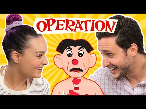 Playing Operation With A Blind Girl ft Molly Burke  Doctor Mike