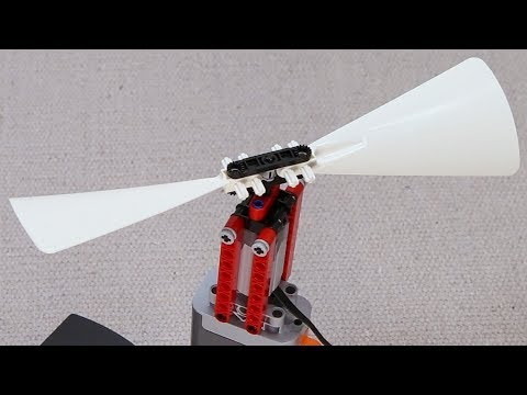 Spinning Lego Propellers