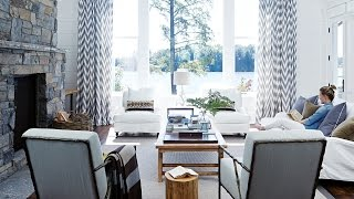 Interior Design – Tour A Luxurious Cottage On Lake Muskoka