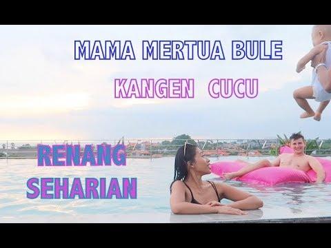 MAMA MERTUA  BULE  GEMES LIHAT CUCUNYA // RENANG SEHARIAN