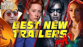 BEST NEW TRAILERS (2018) - WEEKLY Compilation #40