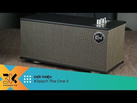 Klipsch The One II Review | Loa bluetooth của Klipsch chất âm ấn tượng, thiết kế tinh tế