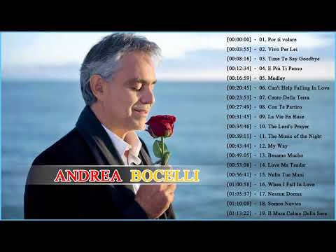 Andrea Bocelli Greatest