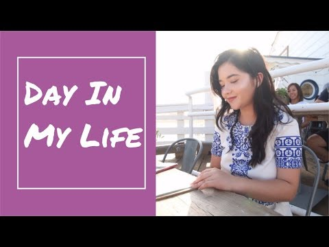 ☾ DAY IN MY LIFE ☾ | filming, friends, happiness | Sonia Elsie